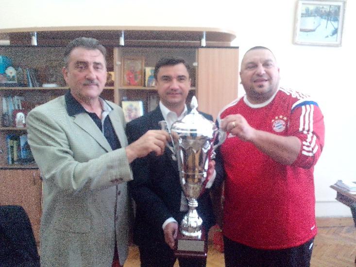IASI: Primarul Mihai Chirica i-a felicitat pe campionii Europei