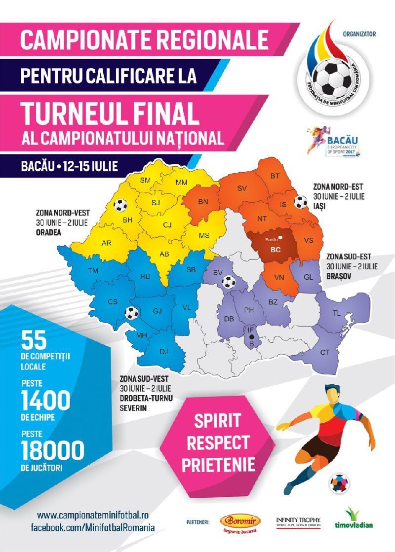 Rezultate Campionatele Regionale 2017