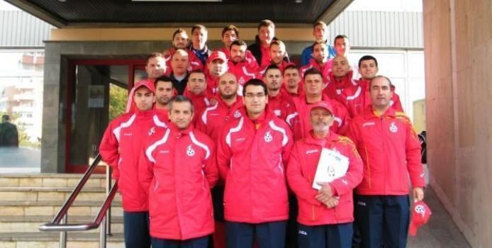 IASI: VIDEO - Nationala de minifotbal a Romaniei, primita de primarul Iasiului la Palatul Roznovanu