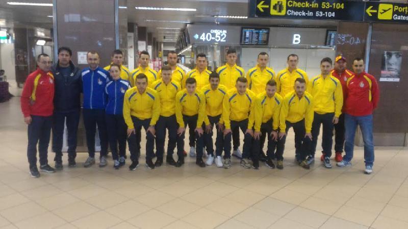 Echipa nationala a Romaniei a decolat spre Tunisia