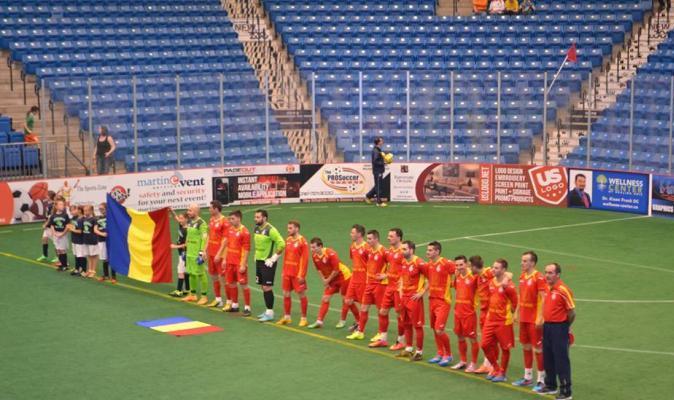 CM de minifotbal: Romania - Canada, in sferturile de finala!