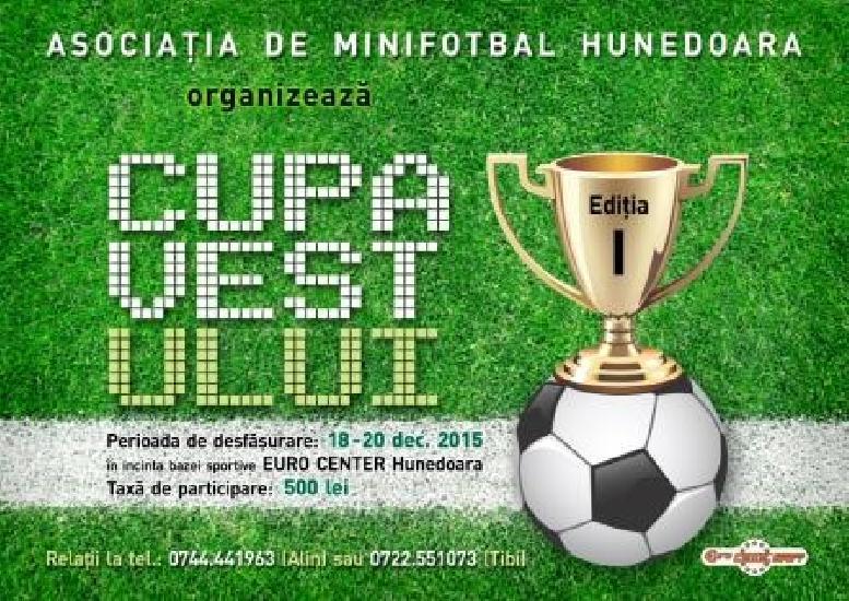 Cupa Vestului Hunedoara 2015