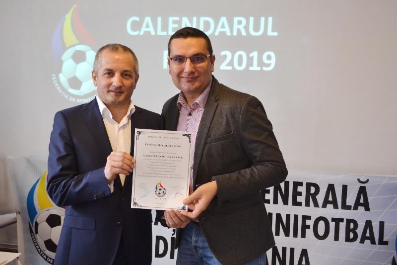 ACS Minifotbal Gorj - reprezentată la AG FMR de la Florești