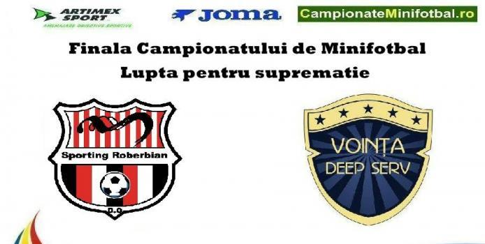 VRANCEA : Sporting si Vointa in finala Ligii de minifotbal