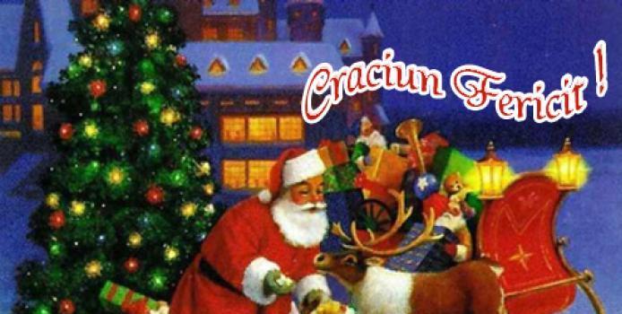 Divizia Galactică de Bahlui Iaşi vă urează Crăciun Fericit!