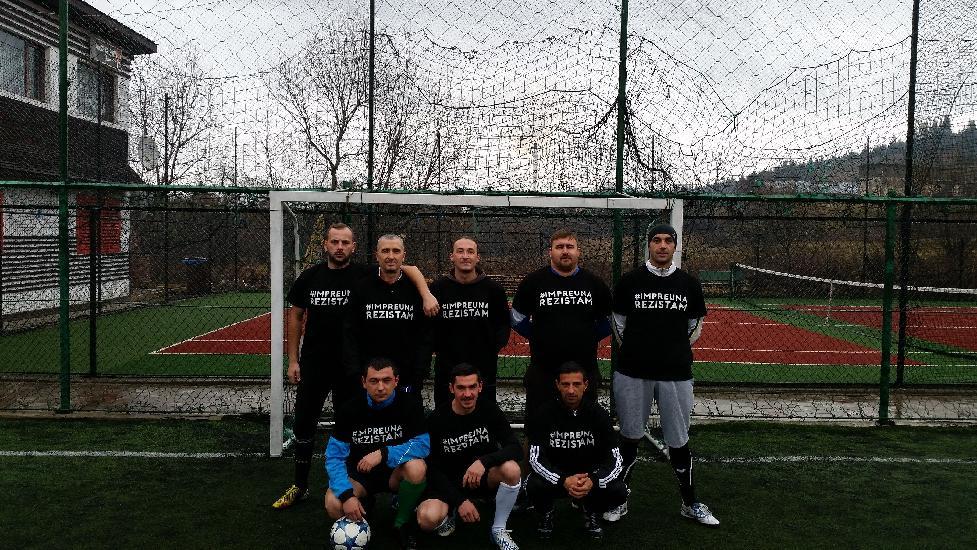 FC Barnarel solidari cu victimile din Colectiv