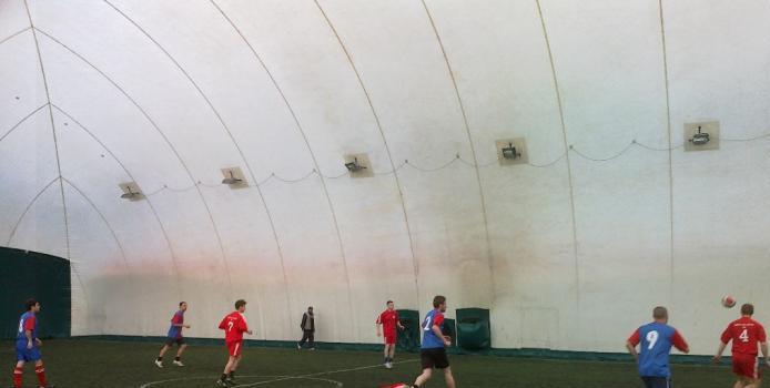 IASI: LIGA CAPITOL - Meci amical la Magic Stadium
