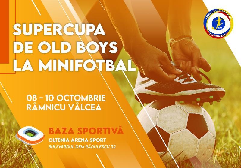 12 echipe participă la Supercupa Old Boys, Râmnicu-Vâlcea 2021