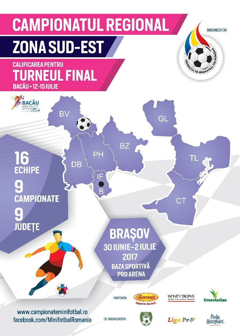 Țintarul jocurilor la Campionatul Regional Sud-Est de la Brașov