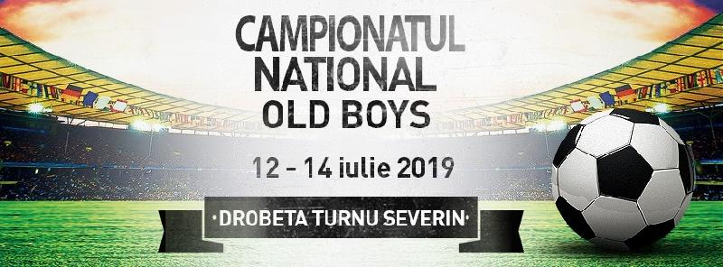 Comunicat - Informații, Campionatul Național de Old Boys, Severin