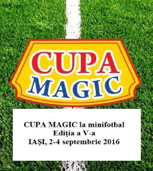 IASI: CUPA MAGIC - Va fi o lupta acerba pentru trofeul pus in joc