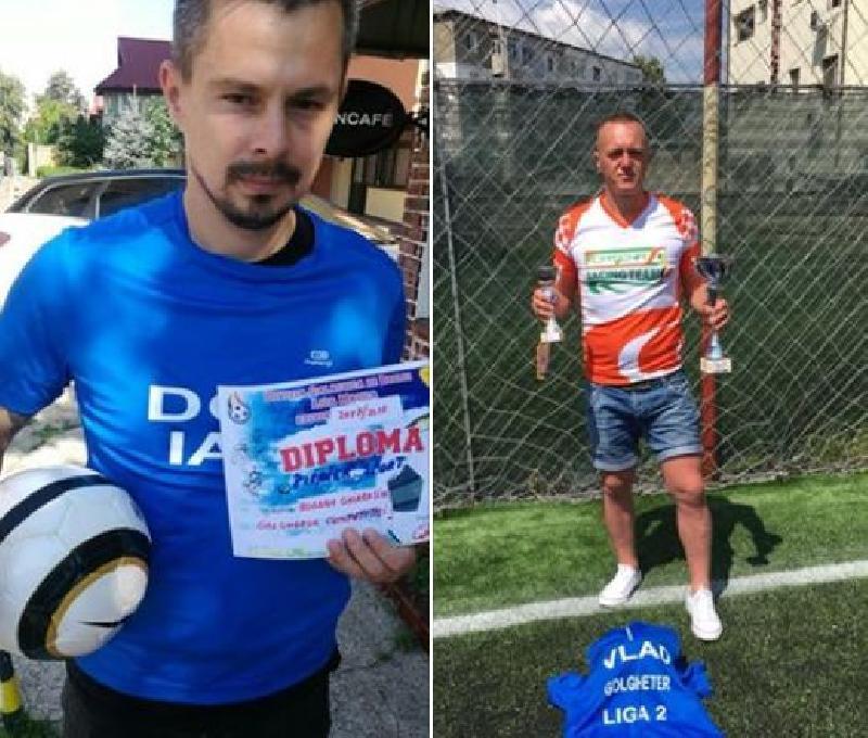 IASI: Bogdan Ghiarasim si Vlad Soponariu, golgeterii celor doua ligi
