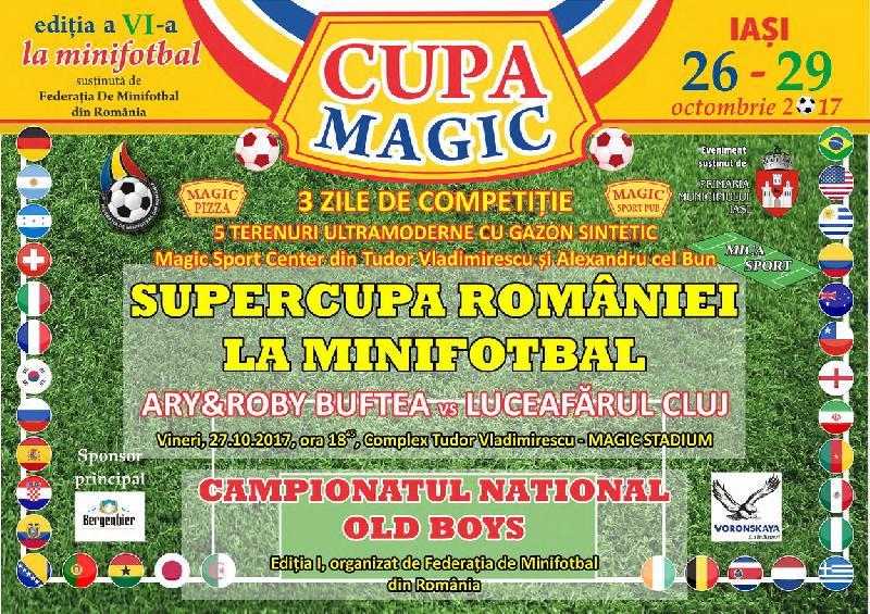 Supercupa României, ediția 2017, are loc vineri la Iași !