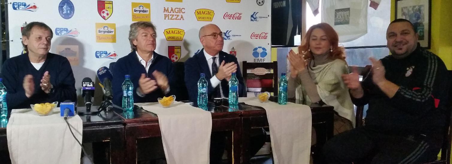 IASI: CUPA UNIRII - Balaci si Antognoni, MVP-urile turneului de la Iasi