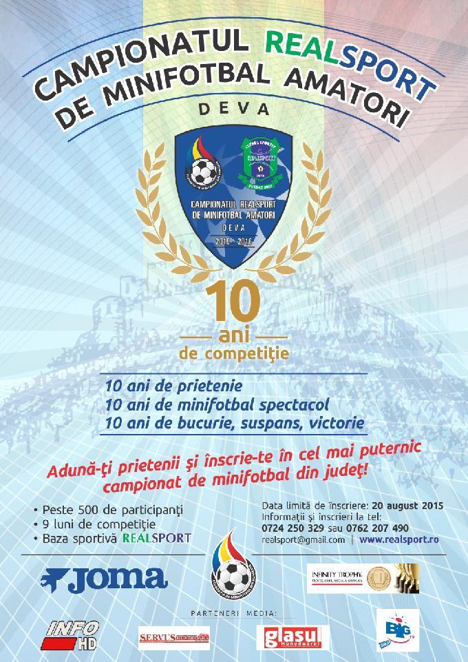 Festivitate de Premiere al Campionatului Realsport Deva