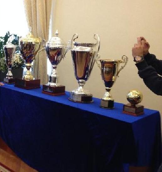 Trofeele cucerite de nationala Romaniei vor fi prezentate la Primaria Roman