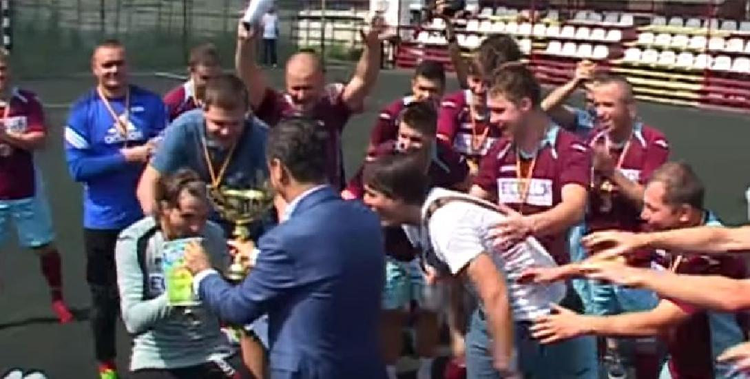 IASI: Echipa Ecolux Chisinau a castigat Cupa Magic la minifotbal