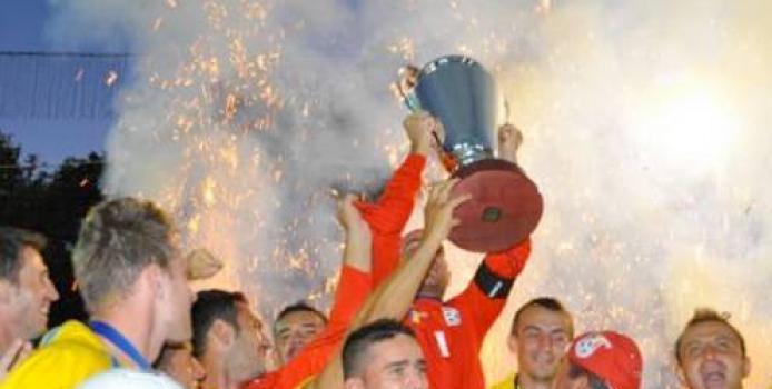 Tulcea - Romania Tripla Campioana Europeana la Minifotbal