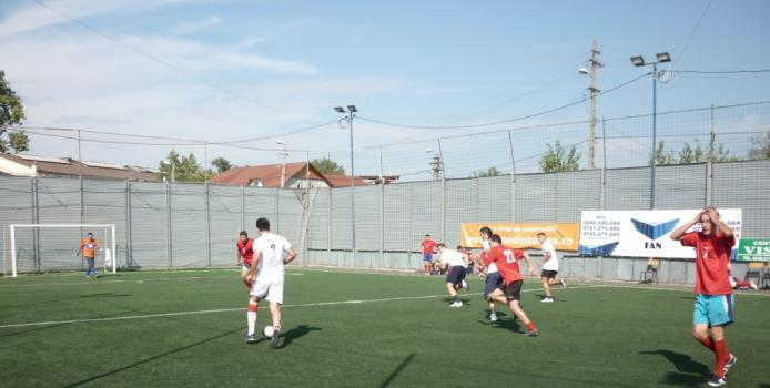 A inceput si la Tulcea Campionatul de Minifotbal