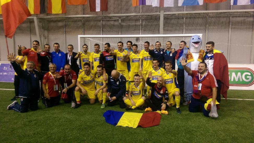 IASI: FELICITARI Minifotbalul, cea mai noua disciplina sportiva din Romania
