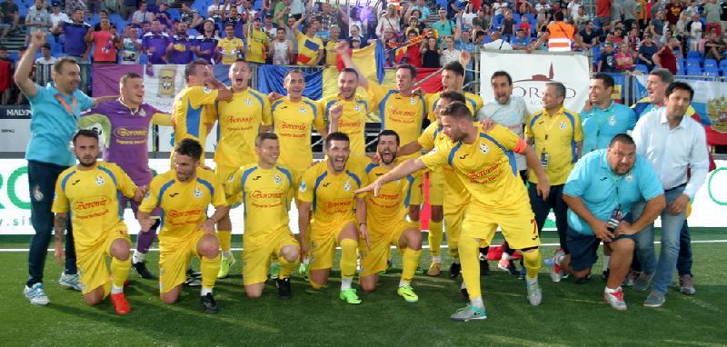 Suntem mari la minifotbal ! România, în semifinalele EURO 2017 !