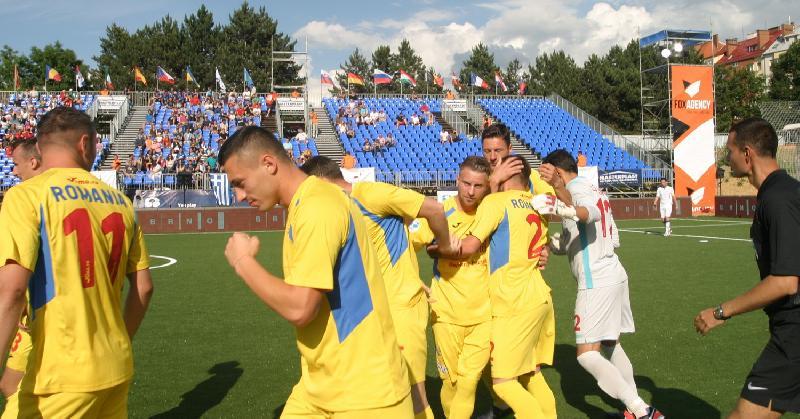 România câștigă clar cu Grecia la start de EURO, scor 4-1 !