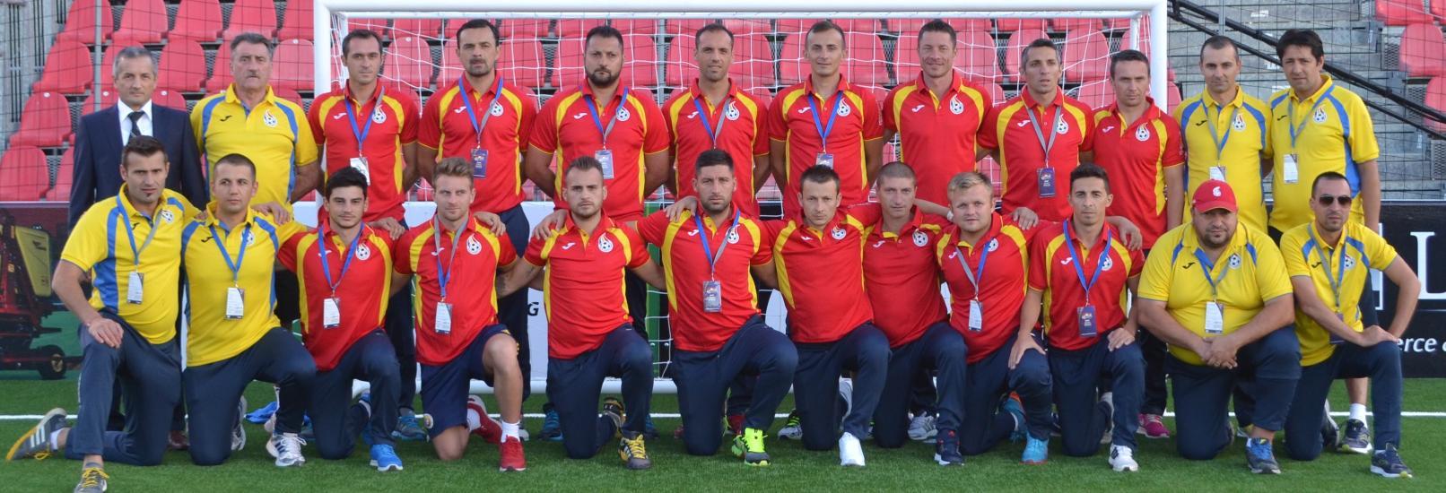 Romania debuteaza la miniEURO 2015