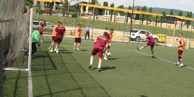 România va juca diseară un meci amical cu selecționata Alba Iulia