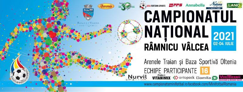 Programul Campionatului Național, Rm-Vâlcea 2021