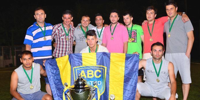 Bucuresti: ABC United a primit medaliile de campioana