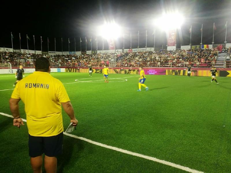 Romania, egala campioanei mondiale Germania la CM Socca din Creta