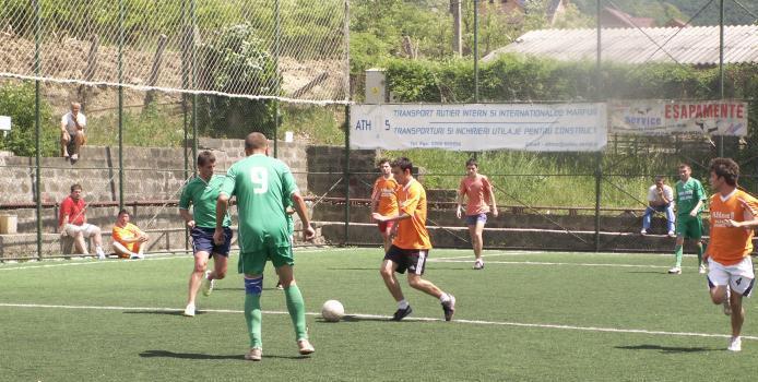 Liga a III-a Fortec Salaj - Jandarmii de la Mobil Team II au invins liderul