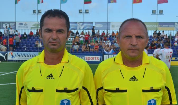 MiniEURO 2014: Nicolae Chis si Gheorghe Ciule arbitreaza la al patrulea turneu continental consecuti
