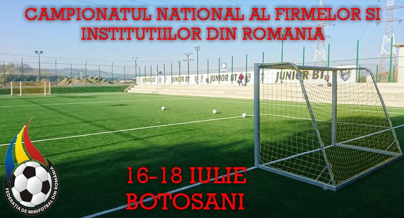 CNFI va avea loc între 16 și 18 iulie la Botoșani
