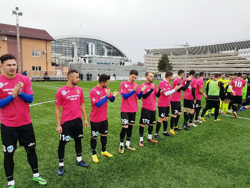 Remiză pentru selecționata de minifotbal în duelul cu Pandurii Târgu Jiu