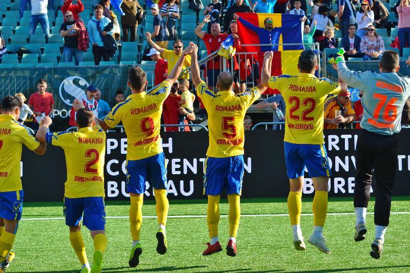 România câștigă și cu Liban și încheie grupa C cu 9 puncte!