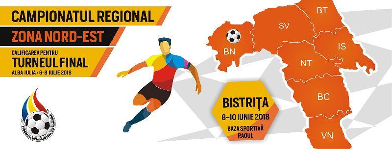 Programul complet al jocurilor de la Campionatul Regional Nord-Est,Bistrița