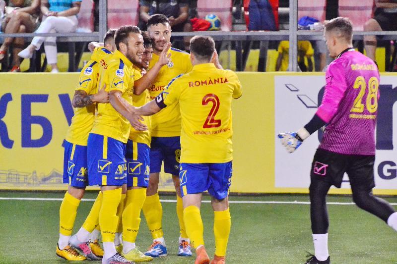 Meciul debutanților: România - Anglia 4-2, în jocul doi de la EURO