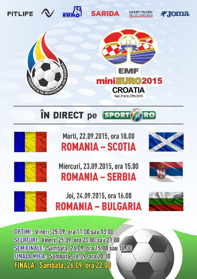 Romania la miniEURO 2015