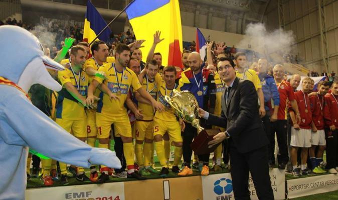 Romania a castigat miniEURO 2014!