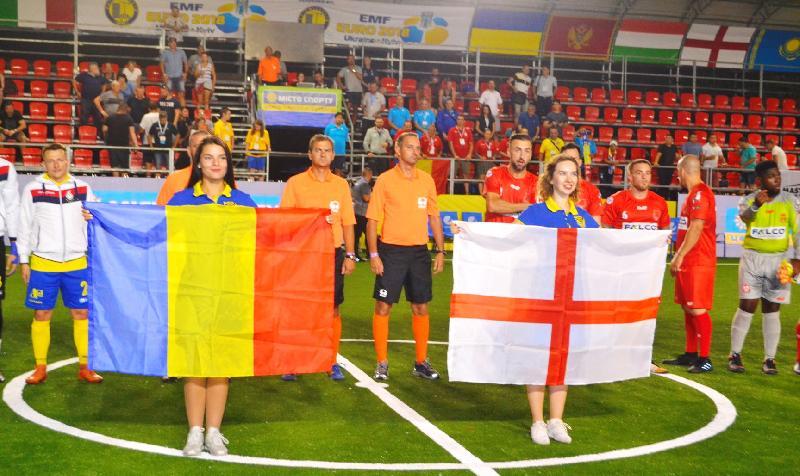 România participă, alături de alte cinci echipe, la Cupa Klitschko la Kiev