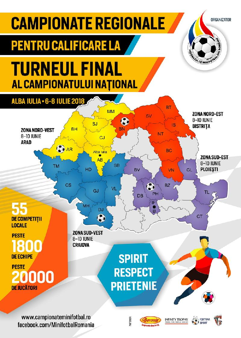 REZULTATE în timp REAL - Campionatele Regionale - 2018