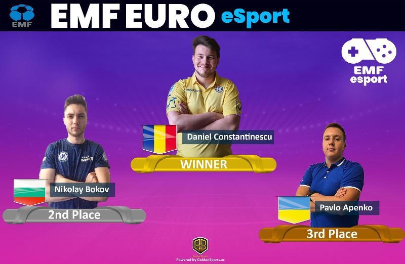 România câștigă ediția inaugurală a EMF E-Sports EURO!