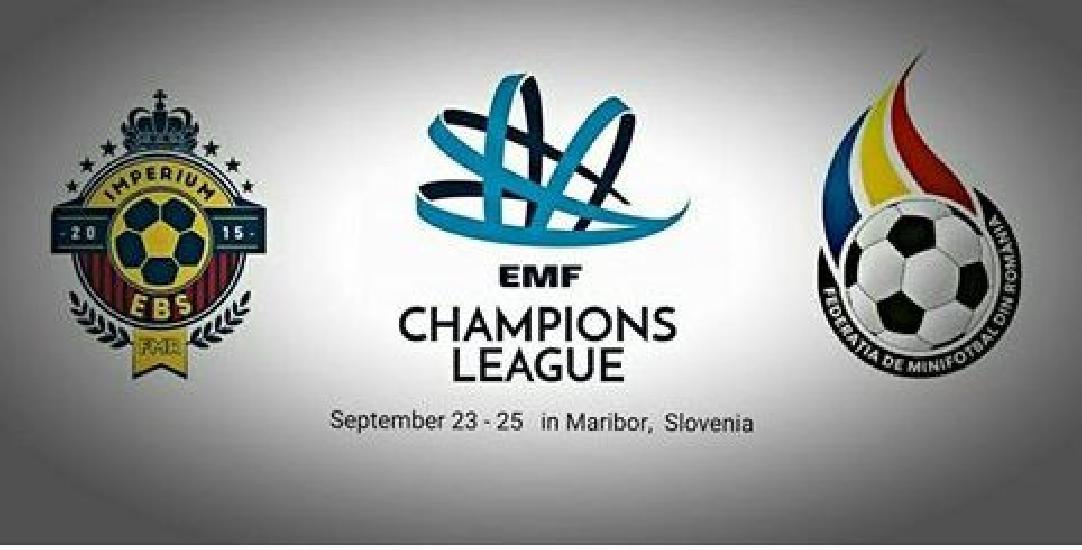 IASI: Imperium EBS se pregateste de Liga Campionilor la CUPA MAGIC