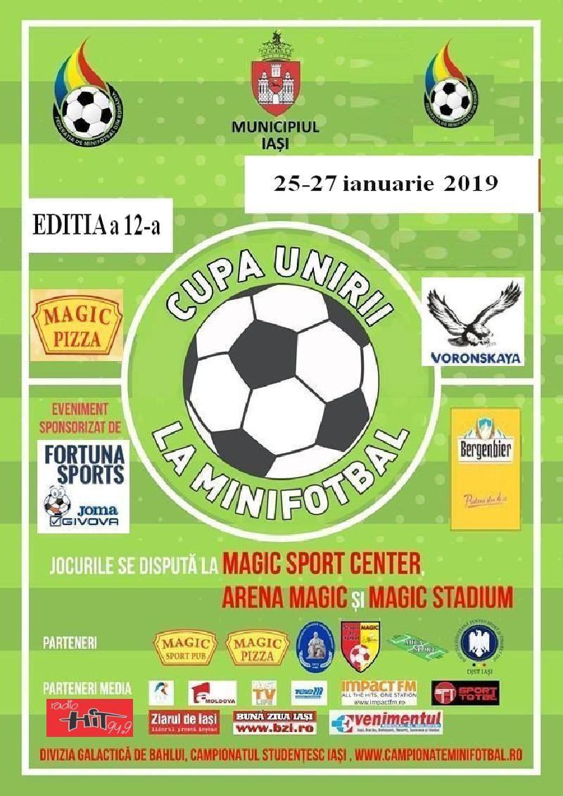 IASI: CUPA UNIRII - Componenta grupelor si programul meciurilor