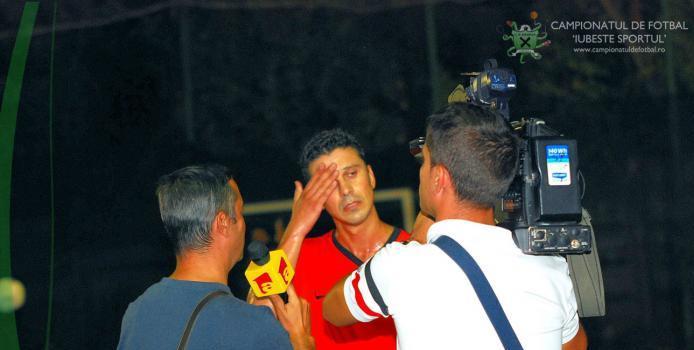 Bucuresti: VIDEO - Marius Mitu a trecut la minifotbal