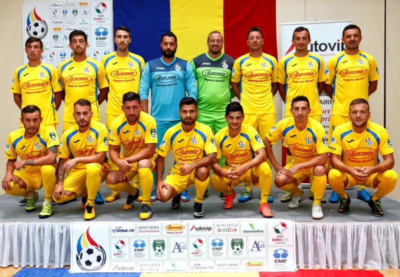 Lotul Romaniei pentru EMF Euro 2016 si numerele jucatorilor